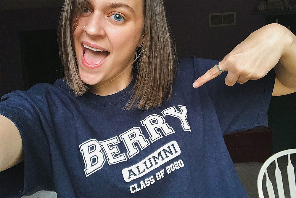 Bailey in Berry 2020 shirt