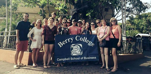 Berry Students in Jamaica