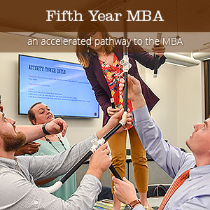Fifth Year MBA - an accelerated pathway to the MBA