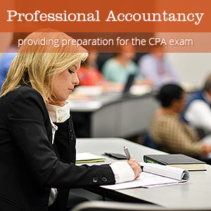 Professional Accountancy - providing preparation for the CPA exam