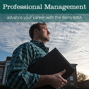 Button - Why Berry? Advance your career with the Berry MBA