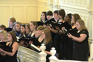 The Berry College Concert Choir