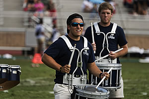 The Berry College Viking Drumline