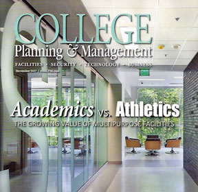 College Planning And Management Magazine Cover