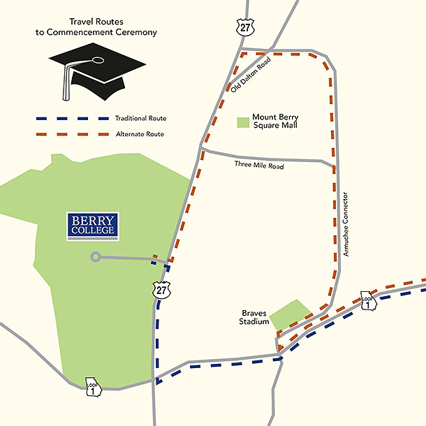 Alternate route to commencement