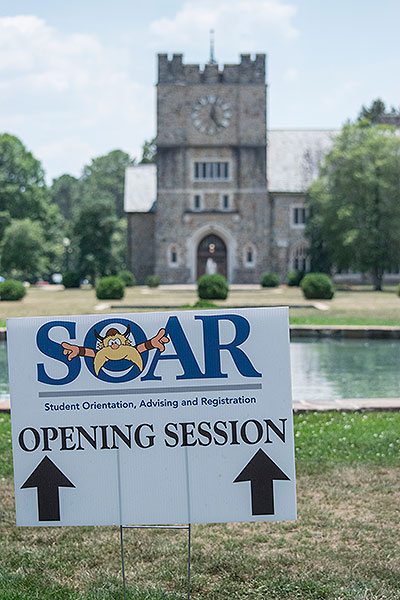 SOAR opening session sign