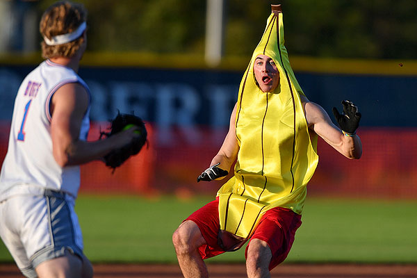 12 - Athletes compete in costume to raise money