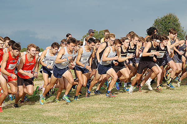 08 - Start of male cross country race