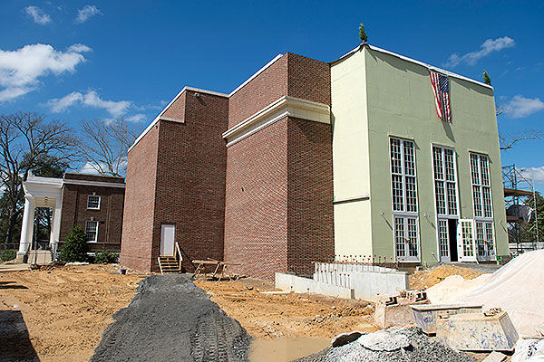 Gallery - View of the new theatre addition