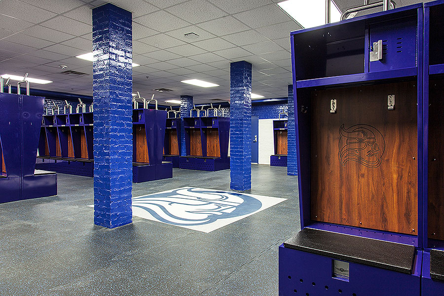 Richards Gymnasium Locker Room