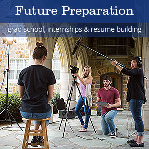 Future Preparation - work training, internships & resume building